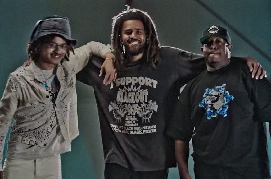 Gang Starr and J Cole Music Video