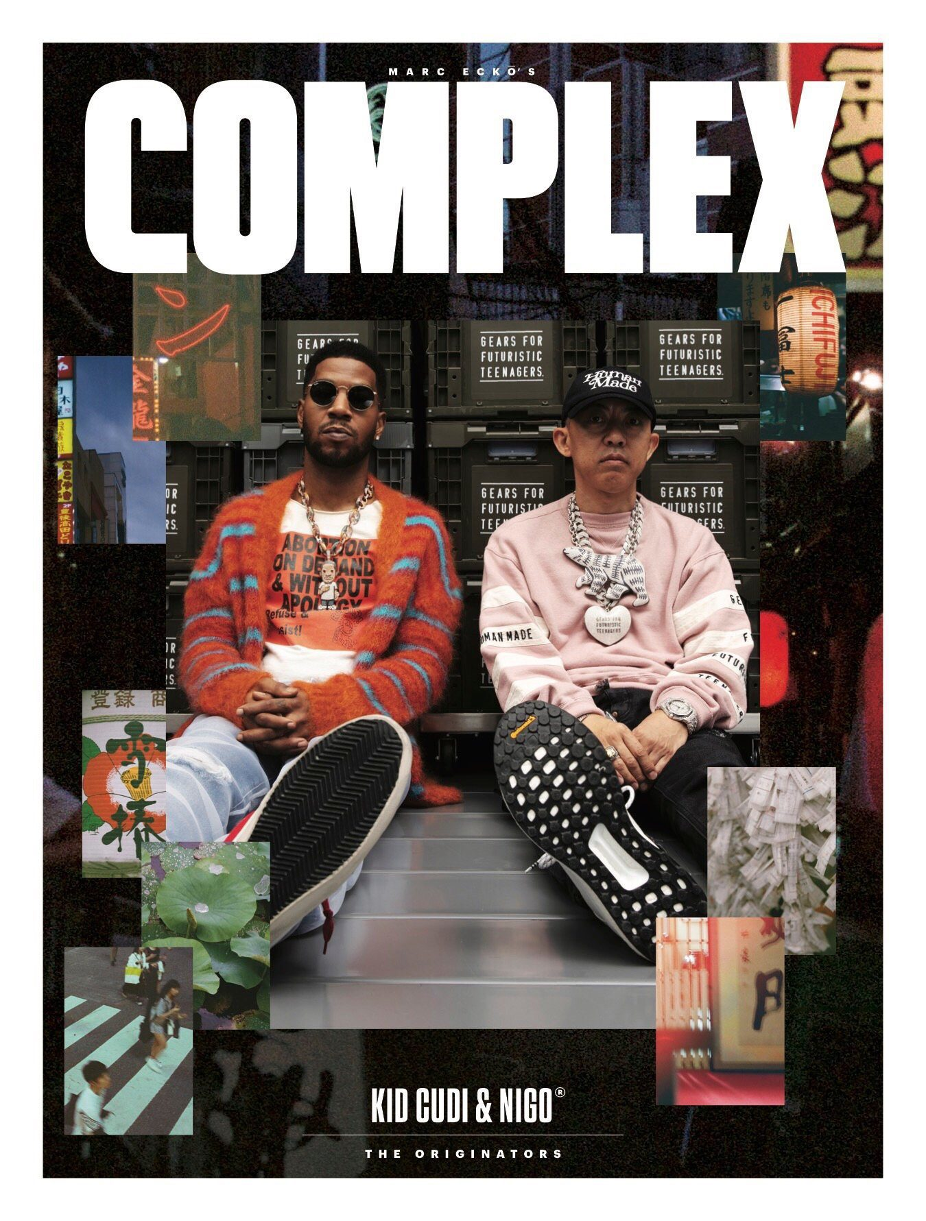 Kid Cudi has more Complex Magazine covers than any other artist