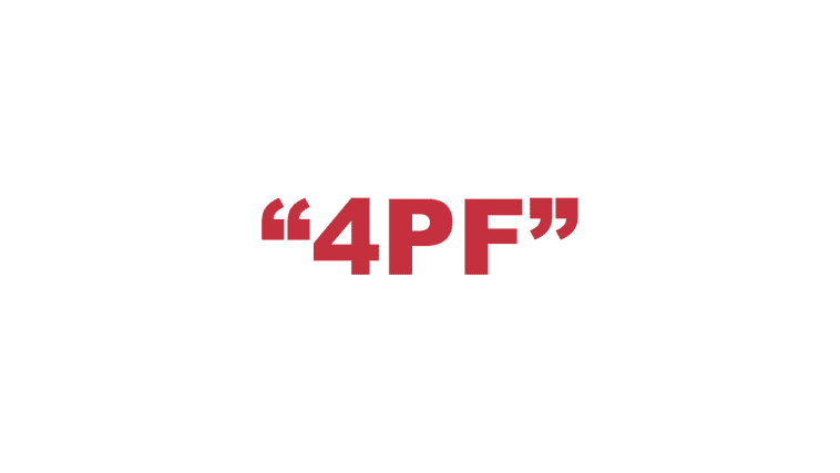 "What does ""4PF"" mean?"