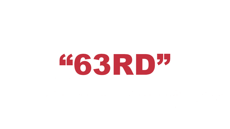 """What does """"63rd"""" mean?"""