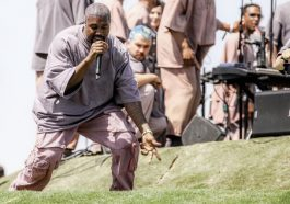 "Kanye West brings ""Sunday Service"" to his hometown Chicago"