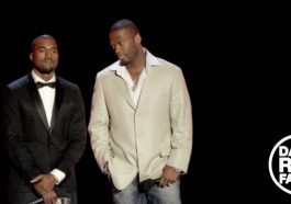 50 Cent said he would quit music if Kanye West outsold him in 2007