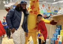 50 Cent spent $100,000 to Rent out a Toys R Us for his son to Shop on Christmas