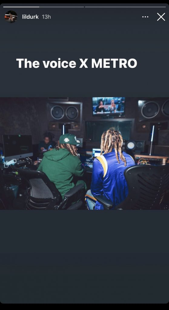 Lil Durk and Metro Boomin are back in the studio