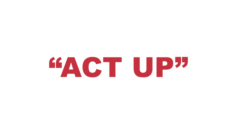 """What does """"Act up"""" mean?"""