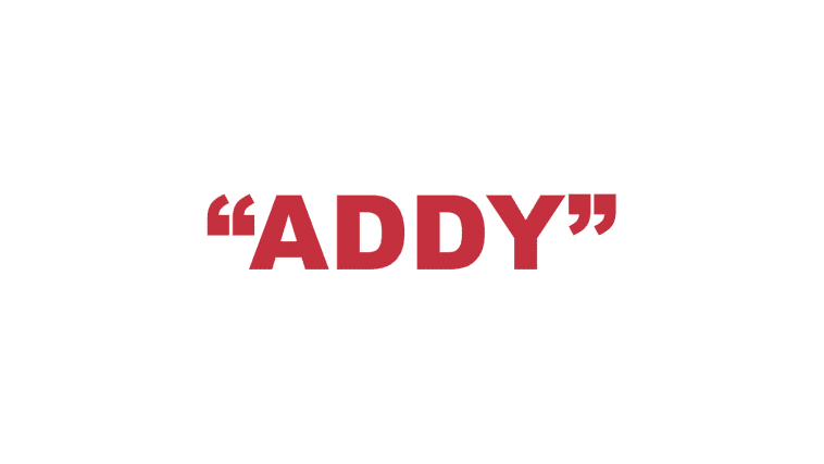"What does ""Addy"" mean?"