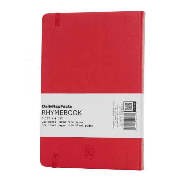 RHYME BOOK (Red)