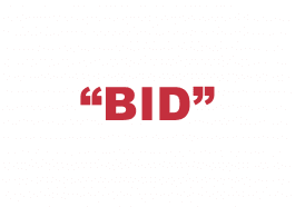 "What does ""Bid"" mean?"