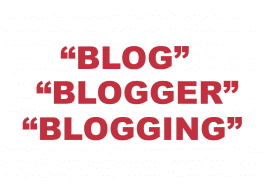 """What does """"Blog"""", """"Blogger"""" or """"Blogging"""" mean?"""