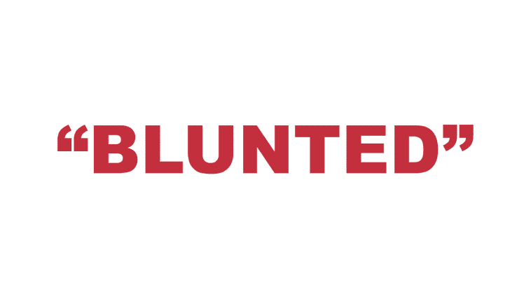 """What does """"Blunted"""" mean?"""