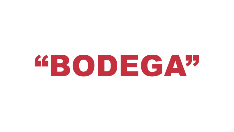 """What does """"Bodega"""" mean?"""