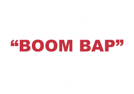 "What does ""Boom bap"" mean?"