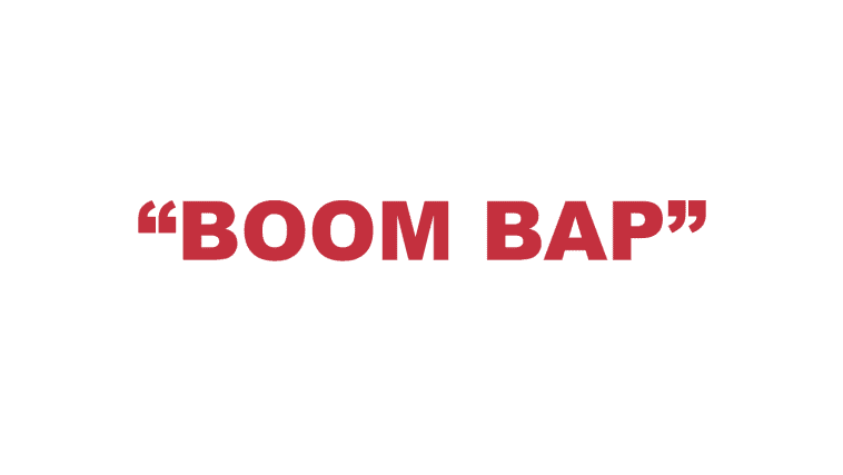 """What does """"Boom bap"""" mean?"""