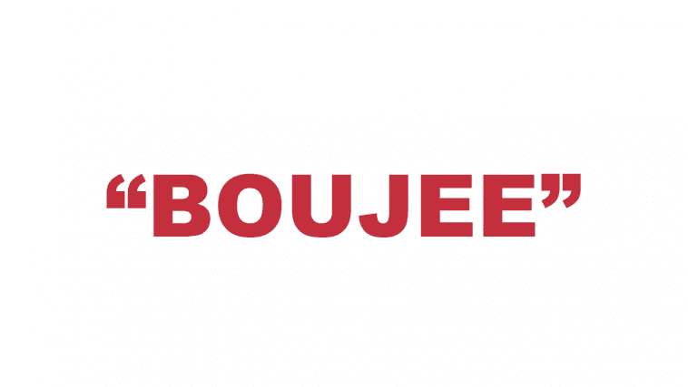 "What does ""Boujee"" mean?"