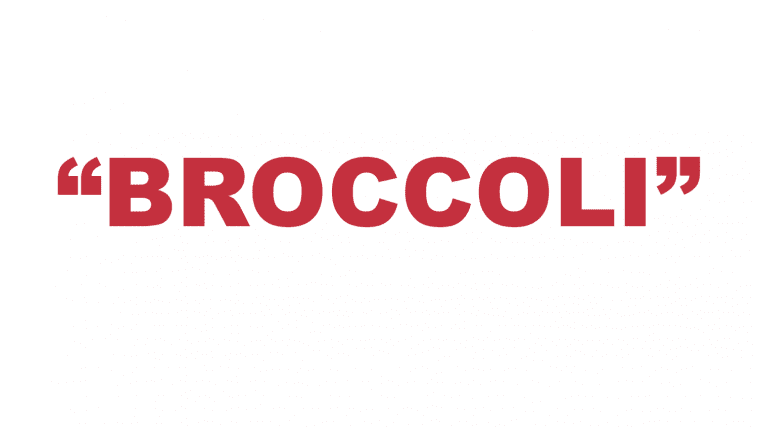 "What does ""Broccoli"" mean in rap?"