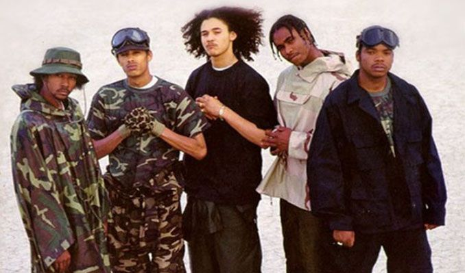 Bone Thugs-N-Harmony is the only group to work with 2Pac, The Notorious B.I.G., Eazy-E, and Big Pun while they were still alive