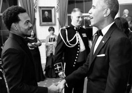 Chance the Rapper and Barack Obama