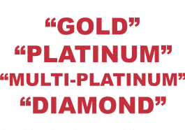"What does going ""Gold"", ""Platinum"", ""Multi-Platinum"", & ""Diamond"" mean in music?"