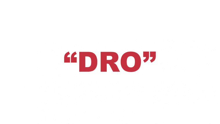 "What does ""Dro"" mean?"