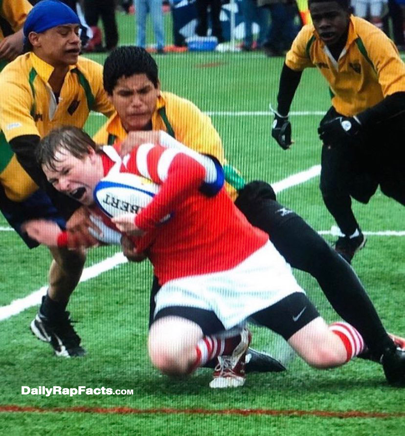 DaBaby played Rugby in high school
