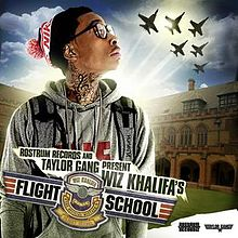 Flight School - Wiz Khalifa  cover art