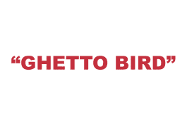 """What does """"Ghetto bird"""" mean?"""