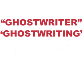 """What does """"Ghostwriter"""" and """"Ghostwriting"""" mean?"""
