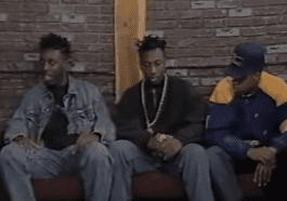 RZA, GZA, and ODB were in a group called All in Together Now before Wu-Tang Clan