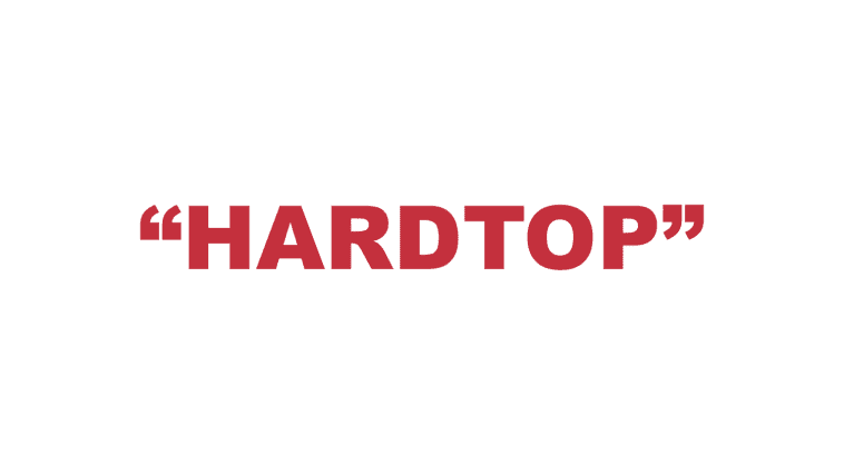 """What does """"Hardtop"""" mean?"""