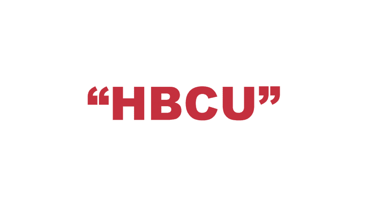 """What does """"HBCU"""" mean?"""