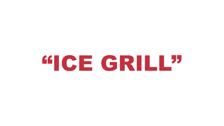 """What does """"Ice grill"""" mean?"""