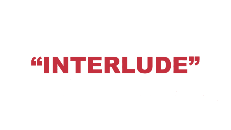 "What does ""Interlude"" mean?"