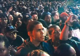 J. Cole sat in the front row at Dave Chappelle's movie 'Block Party'