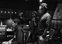 Jay Z and Jay Electronica in the studio