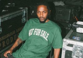 Kendrick Lamar's first rap name was K. Dot