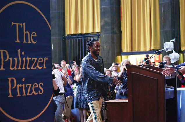 Kendrick Lamar's 'DAMN.' was the first hip-hop album to win the Pulitzer Prize