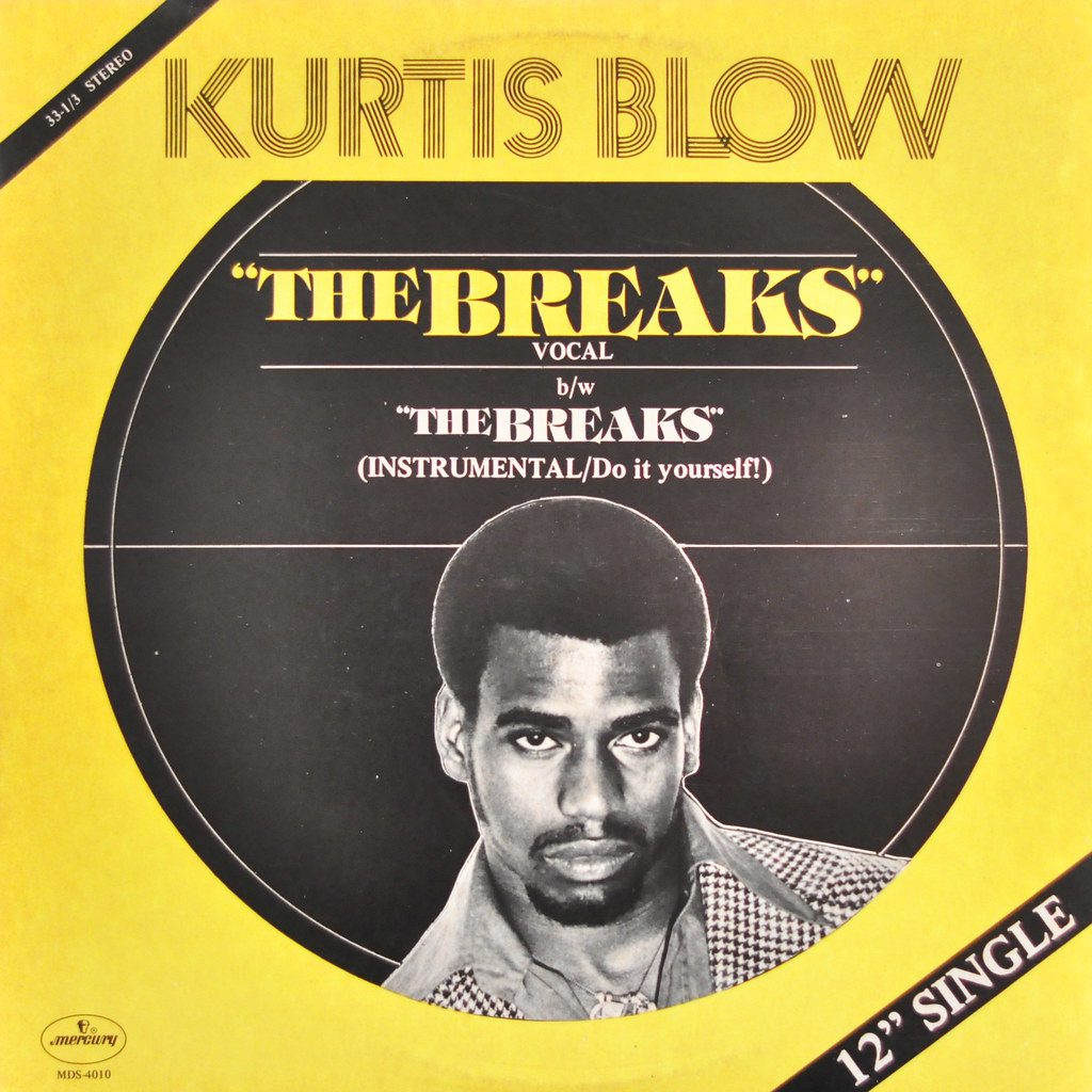 "Kurtis Blow's ""The Breaks"" was the first hip-hop single to go gold"