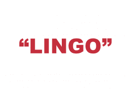 """What does """"Lingo"""" mean?"""