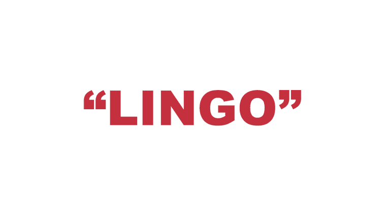 "What does ""Lingo"" mean?"
