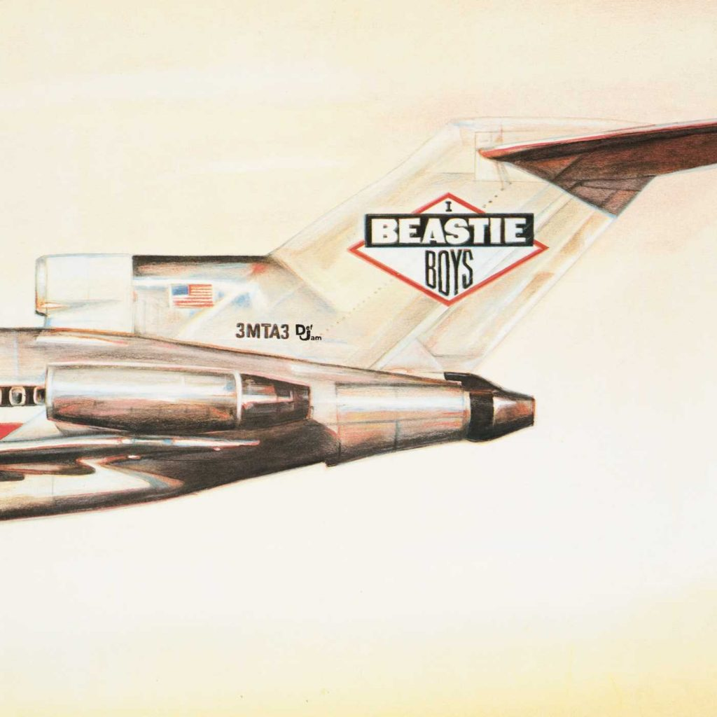 """Beastie Boys debut album """"Licensed to Ill"""" was the first No. 1 rap album"""