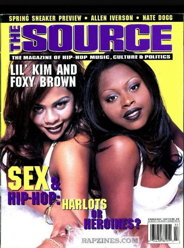 Lil Kim & Foxy Brown went to high school together