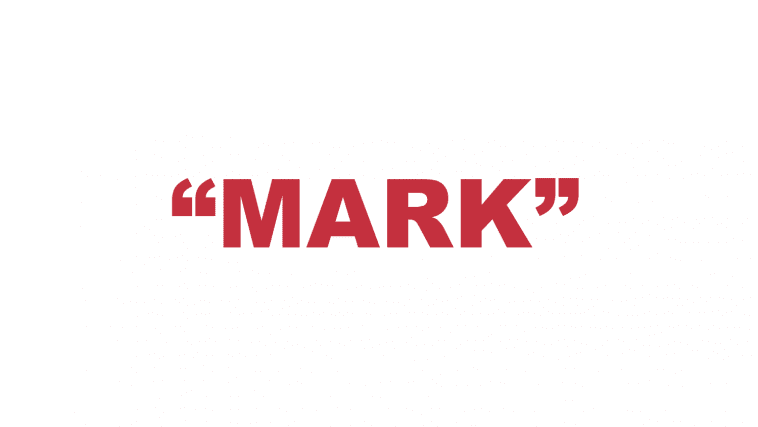 """What does """"Mark"""" mean?"""