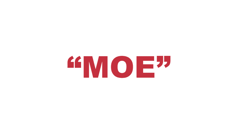 """What does """"Moe"""" mean?"""