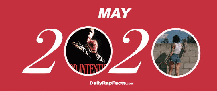 May 2020 Hip-Hop / Rap / R&B (Singles & Albums)
