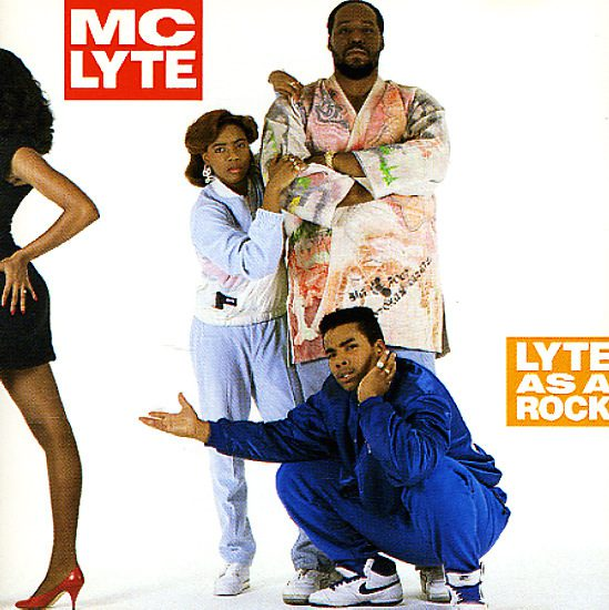 "MC Lyte's ""Lyte as a Rock"" was the first hip-hop album by a solo female rapper"
