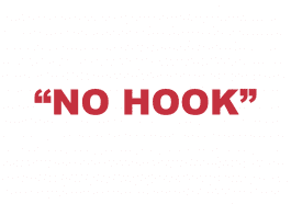 "What does ""No hook"" mean?"