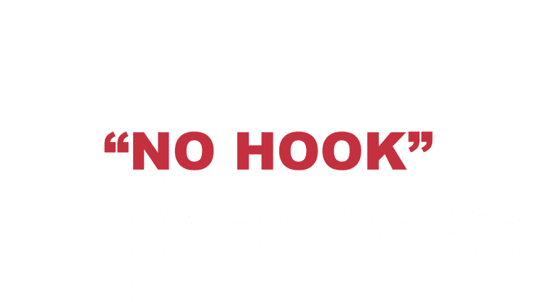 """What does """"No hook"""" mean?"""