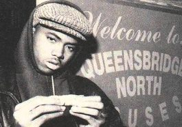 Nas dropped out of school in 8th grade