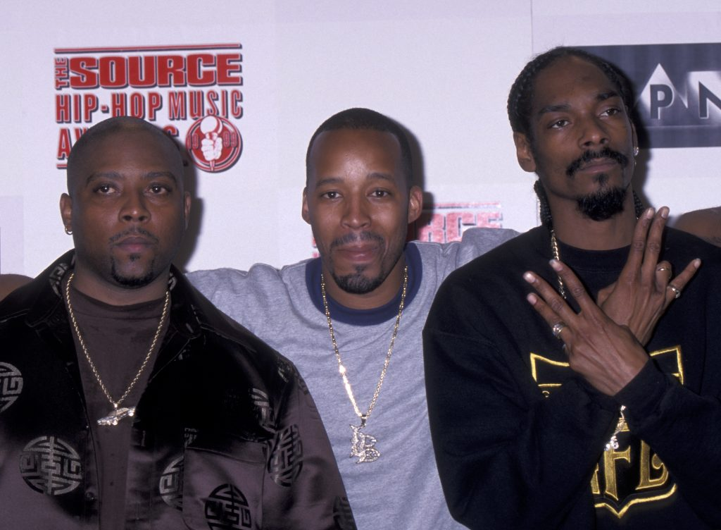 Nate Dogg, Snoop Dogg and Warren G were once in a local rap group called 213