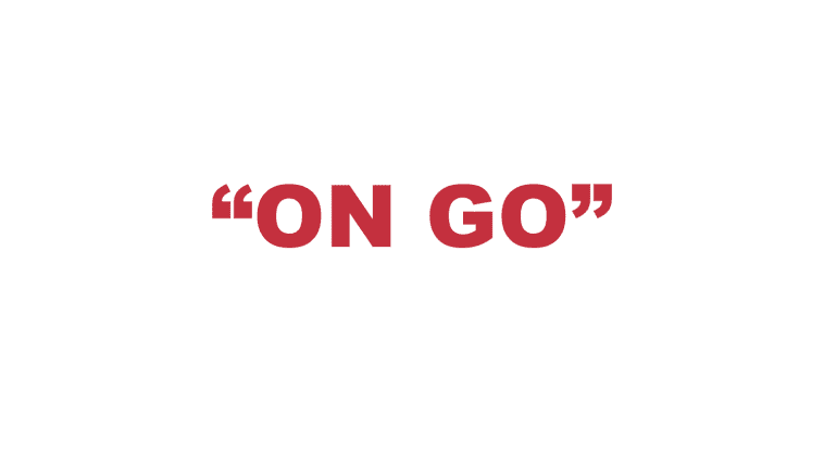 """What does """"On go"""" mean?"""